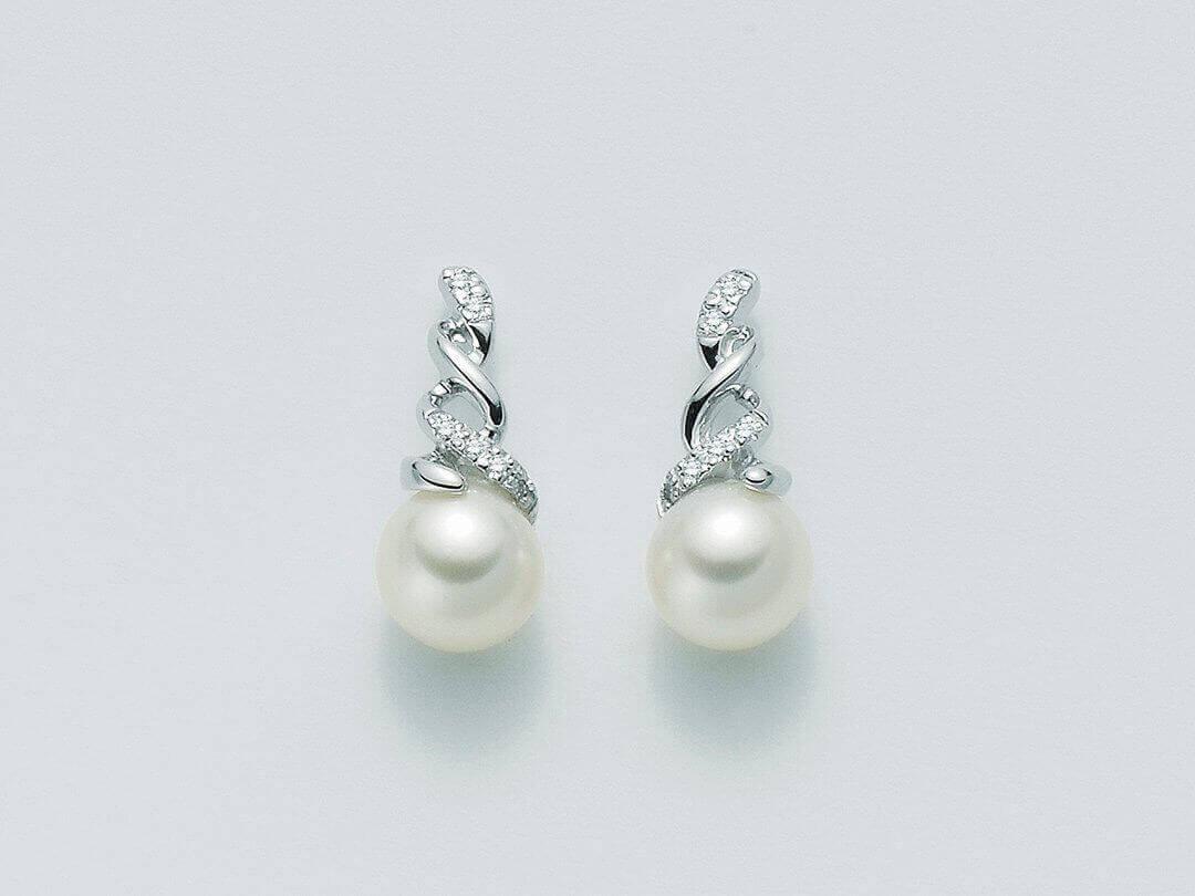 per1774 parure orecchini perle parure perle miluna per1774. Black Bedroom Furniture Sets. Home Design Ideas