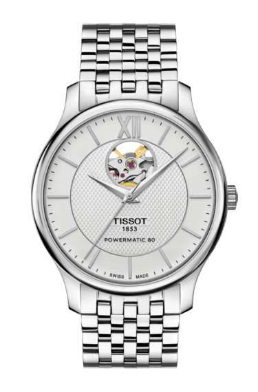 T-classic Tradition Automatic Open Heart T0639071103800 Tissot