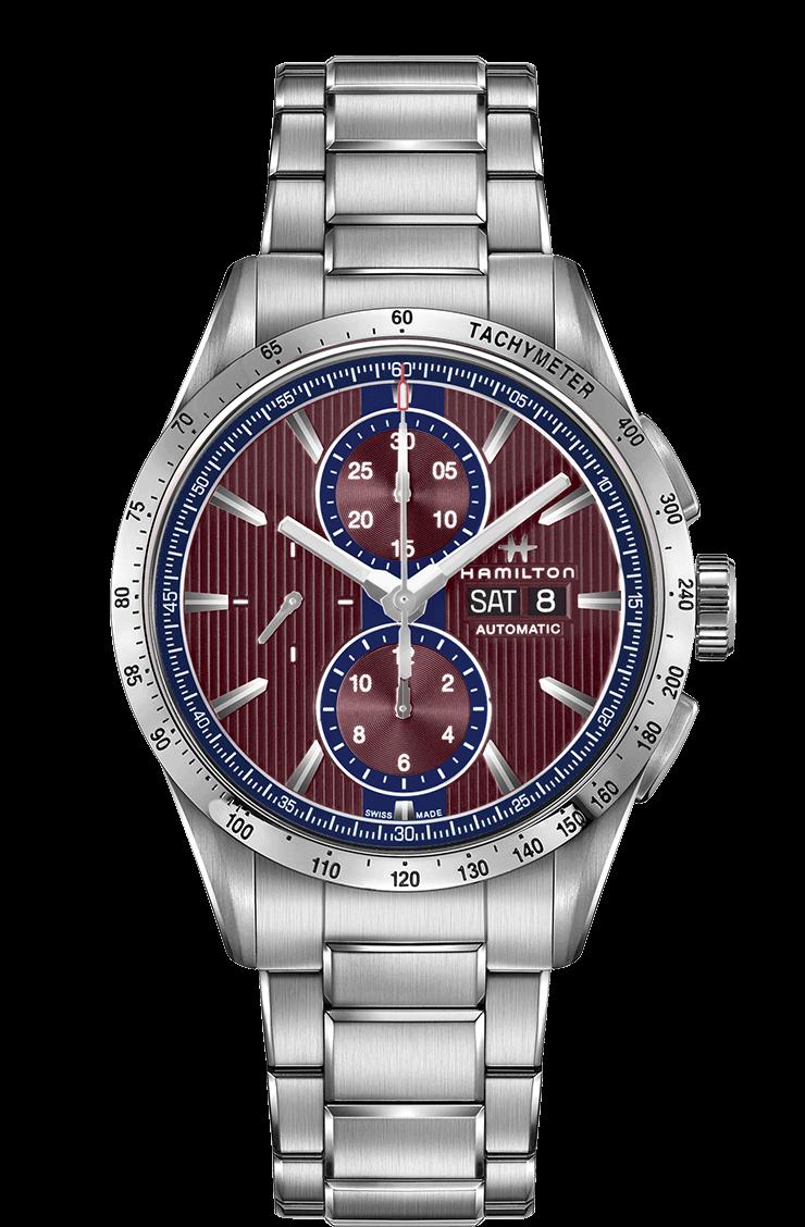 Hamilton h43516171 cronografo orologi uomo automatici broadway for Orologi svizzeri uomo