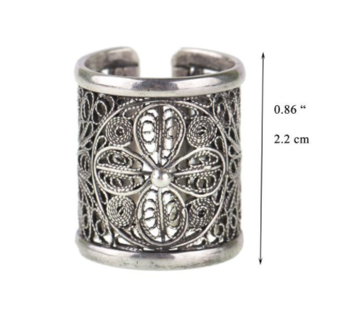 Tatoo Delight Band Ring R5299