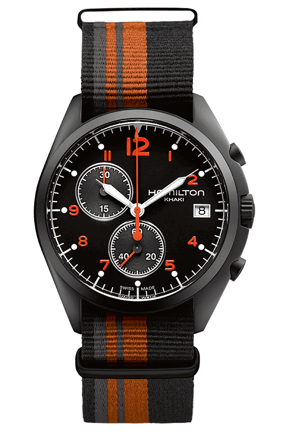 Hamilton Khaki Aviation Pilot Pioneer Chrono Quartz H76582933